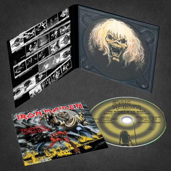Iron Maiden - CD THE NUMBER OF THE BEAST