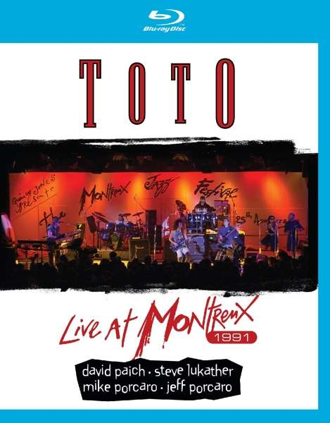 Toto - Blu-ray LIVE AT MONTREUX 1991
