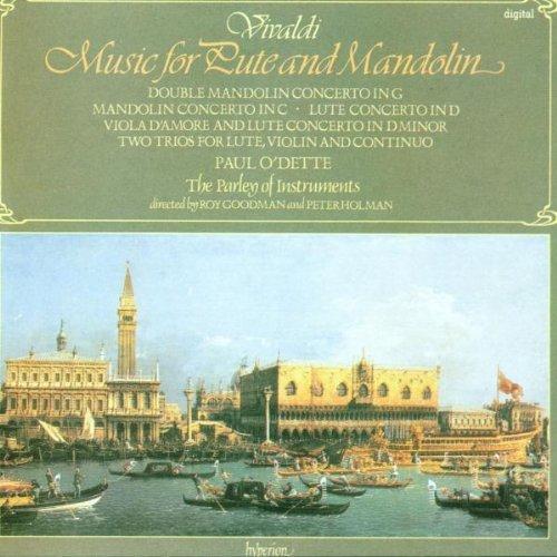 CD VIVALDI, A. - LUTE AND MANDOLIN CONCERT