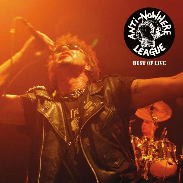 Vinyl ANTI-NOWHERE LEAGUE - BEST OF LIVE