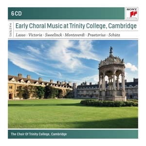 CD CHOIR OF TRINITY COLLEGE - Early Choral Music at Trinity