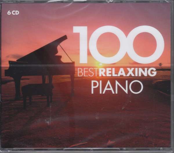 CD VARIOUS ARTISTS - 100 BEST RELAXING PIANO