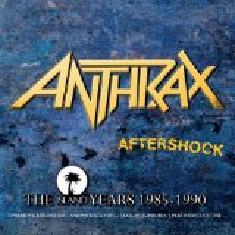 Anthrax - CD AFTERSHOCK - The Island Years