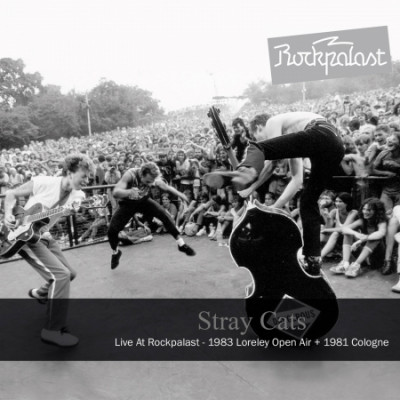 CD STRAY CATS - LIVE AT ROCKPALAST