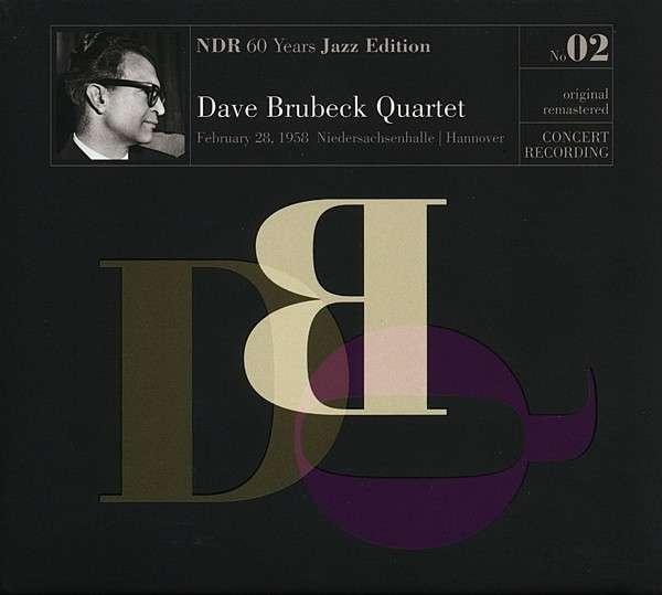 CD BRUBECK, DAVE -QUARTET- - NDR 60 YEARS JAZZ EDITION NO.02