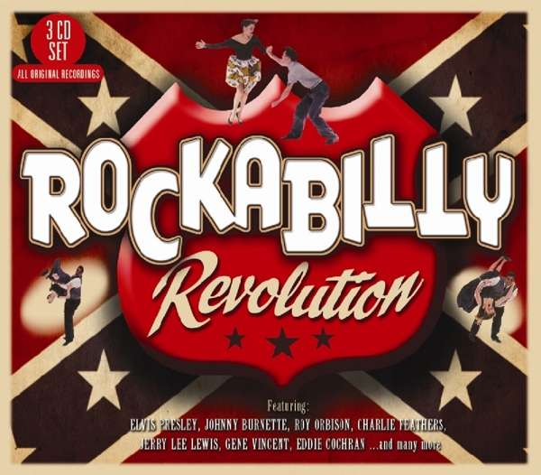 CD V/A - ROCKABILLY REVOLUTION