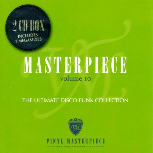 CD V/A - MASTERPIECE THE ULTIMATE DISCO COLLECTION VOL.10