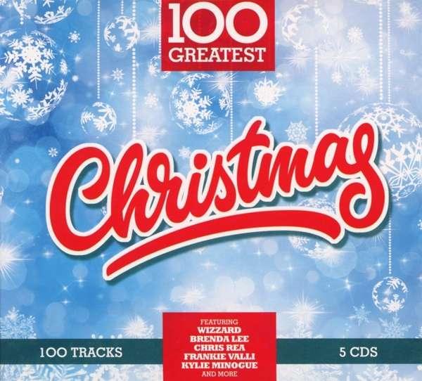 CD VARIOUS ARTISTS - 100 GREATEST CHRISTMAS
