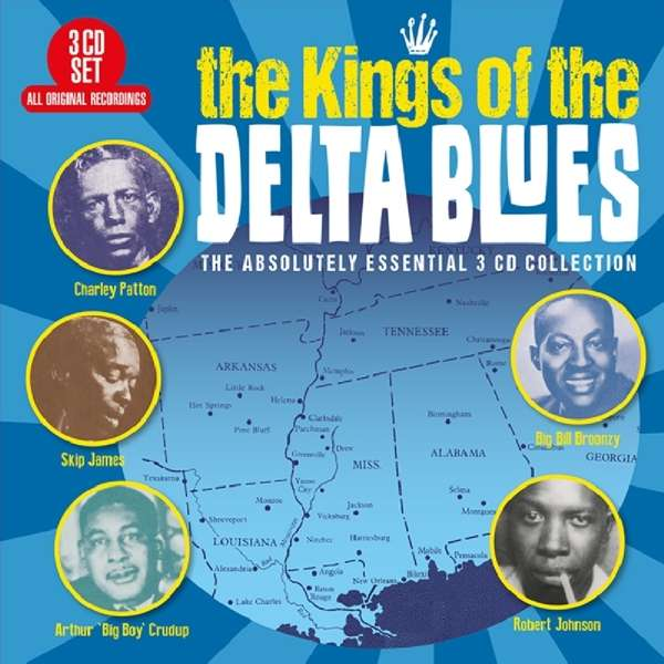 CD V/A - KINGS OF THE DELTA BLUES