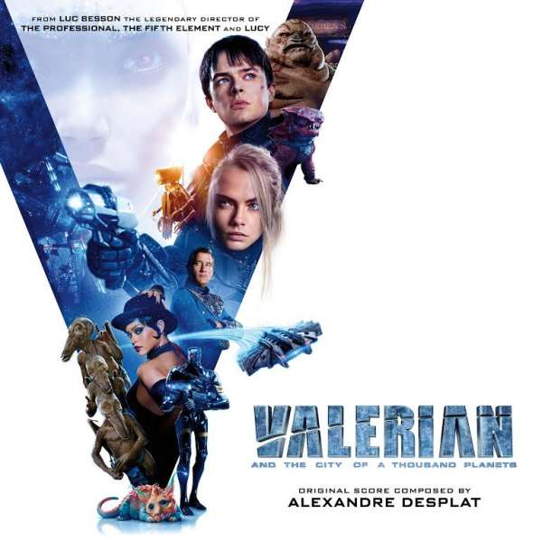 OST - CD VALERIAN AND THE CITY OF A THOUSAND PLANETS