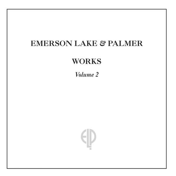 CD EMERSON, LAKE & PALMER - WORKS VOLUME 2
