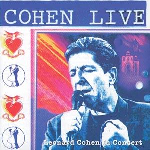 CD COHEN, LEONARD - COHEN LIVE - LEONARD COHEN LIV