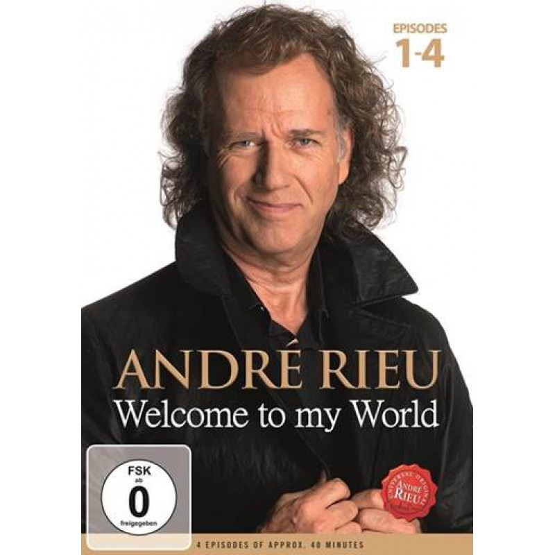DVD RIEU ANDRE - WELCOME TO MY WORLD