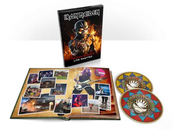 Iron Maiden - CD THE BOOK OF SOULS: LIVE CHAPTER (LIMITED EDIDION)