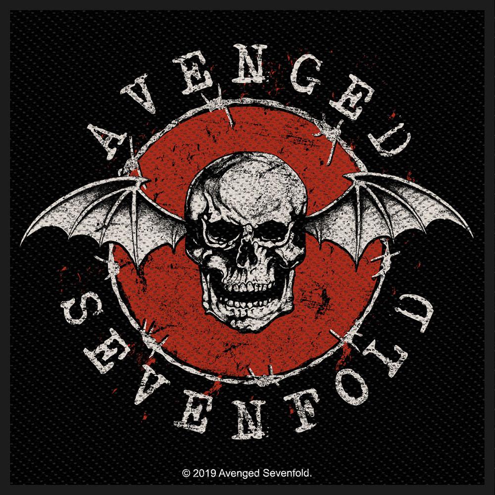 Avenged Sevenfold A7X - Nažehlovačka Distressed Skull