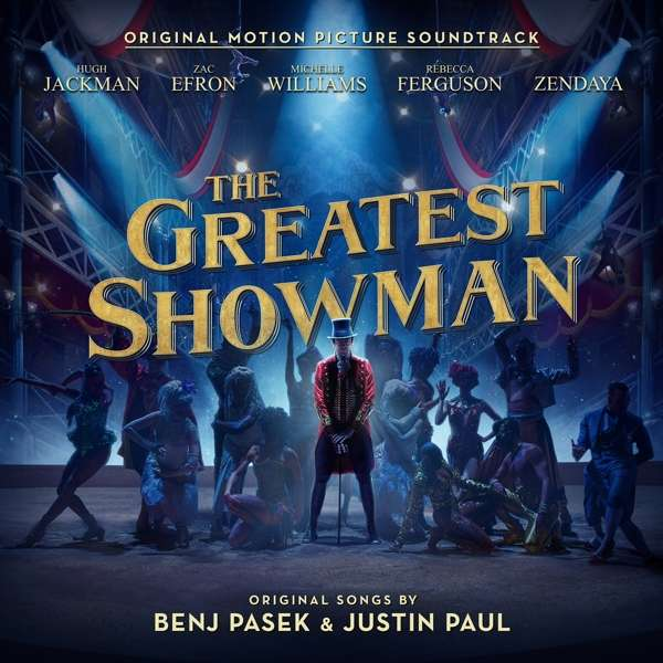 CD VARIOUS ARTISTS - THE GREATEST SHOWMAN (ORIGINAL MOTION PICTURE SOUNDTRACK)