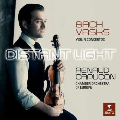 CD CAPUCON, RENAUD/CELINE FRISCH/CHAMBER ORCHESTRA OF EUROPE - BACH: VIOLIN CONCERTOS BWV 1041 & 1042; VASKS: DISTANT LIGHTS (VIOLIN CONCERTO) - DIGIPACK