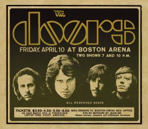 CD DOORS, THE - LIVE FROM THE BOSTON ARENA1970