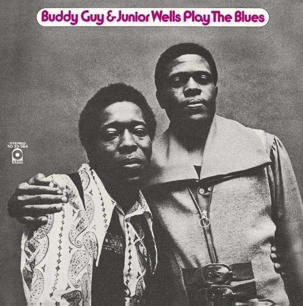 CD GUY, BUDDY WITH JUNIOR WELLS - PLAY THE BLUES