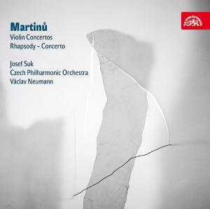CD SUK JOSEF, CESKA FILHARMONIE MARTINU : KONCERTY PRO HOUSLE A ORCHES