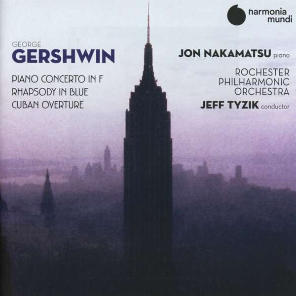 CD GERSHWIN, G. - PIANO CONCERTO IN F