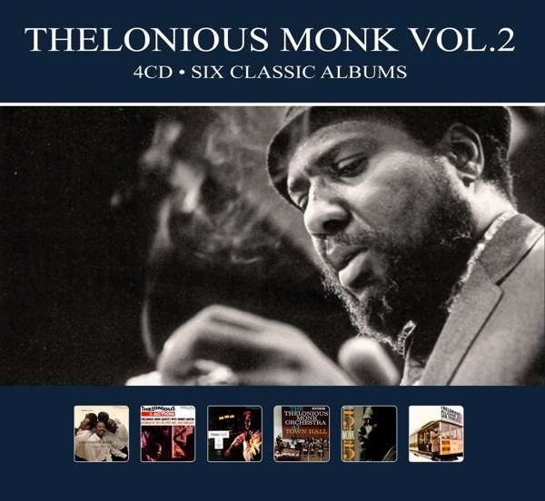 CD MONK, THELONIOUS - SIX CLASSIC ALBUMS VOL.2