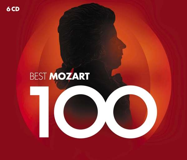 CD VARIOUS ARTISTS - 100 BEST MOZART