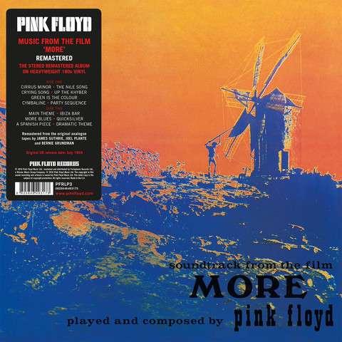 Pink Floyd - Vinyl MORE (OST) (2011 REMASTERED)