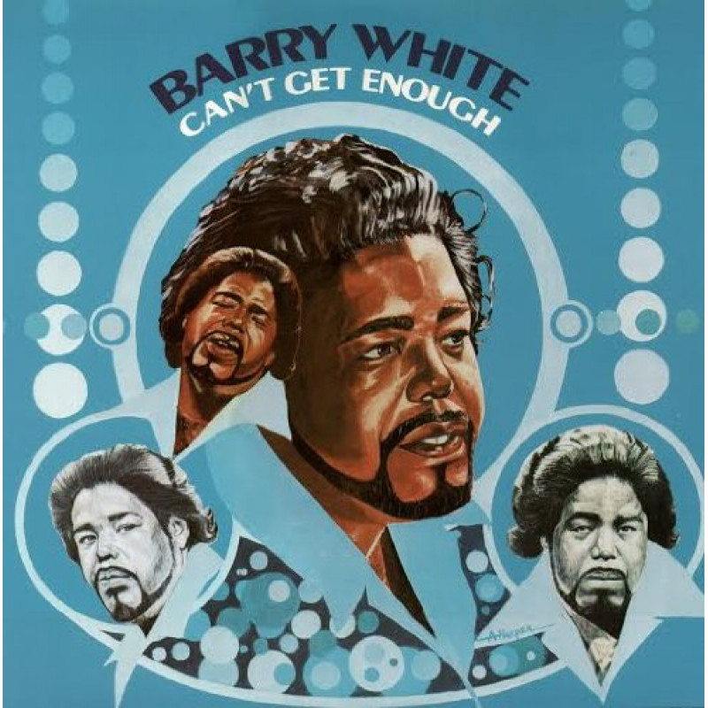 CD WHITE BARRY - CAN'T GET ENOUGH