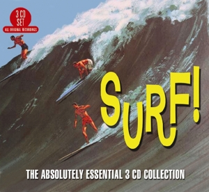 CD V/A - SURF - THE ABSOLUTELY ESSENTIAL 3 CD COLLECTION