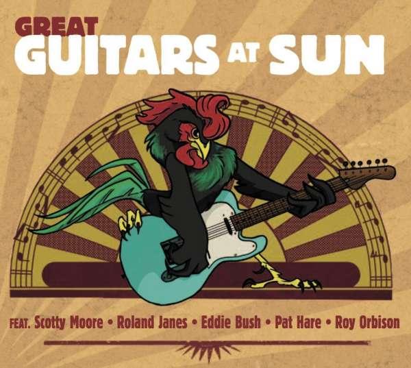 CD V/A - GREAT GUITARS AT SUN