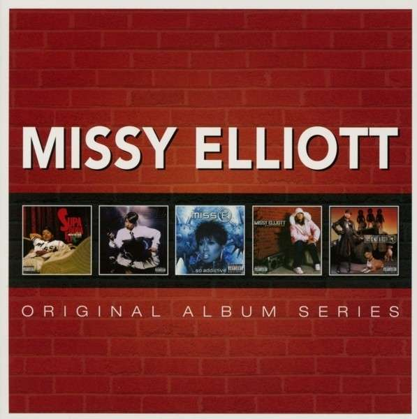 CD ELLIOTT, MISSY - ORIGINAL ALBUM SERIES