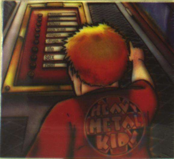 CD HEAVY METAL KIDS - HIT THE RIGHT BUTTON