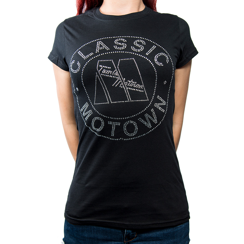 Motown - Tričko Classic - Žena, Čierna, S