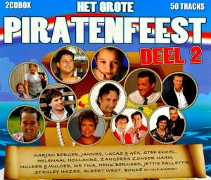 CD V/A - HET GROTE PIRATENFEEST 2