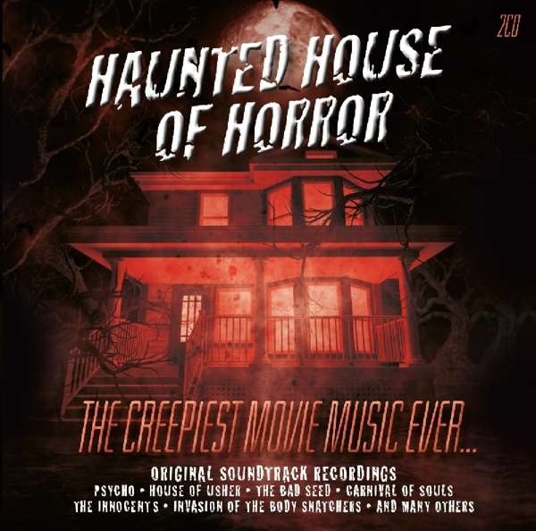 CD V/A - HAUNTED HOUSE OF HORROR