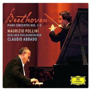 CD POLLINI/ABBADO/BPH - Beethoven: Klavírní koncerty 1-5 * Trojkoncert
