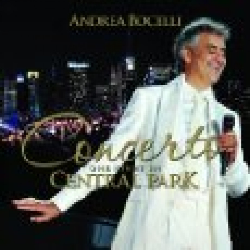 CD BOCELLI ANDREA - ONE NIGHT IN CENTRAL../DVD