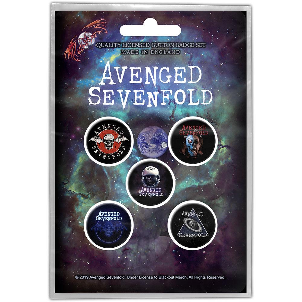 Avenged Sevenfold A7X - Odznak The Stage