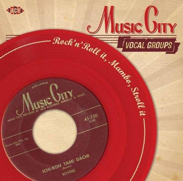 CD V/A - MUSIC CITY VOCAL GROUPS 2