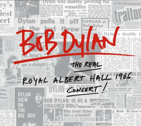 Bob Dylan - CD REAL ROYAL ALBERT HALL 1966 CONCERT
