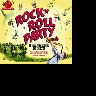 CD V/A - ROCK 'N' ROLL PARTY - THE ABSOLUTELY ESSENTIAL 3 CD COLLECTION