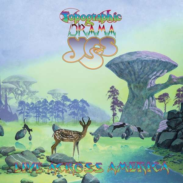 Yes - CD TOPOGRAPHIC DRAMA - LIVE