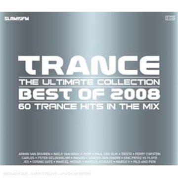 CD V/A - TRANCE BEST OF 2008