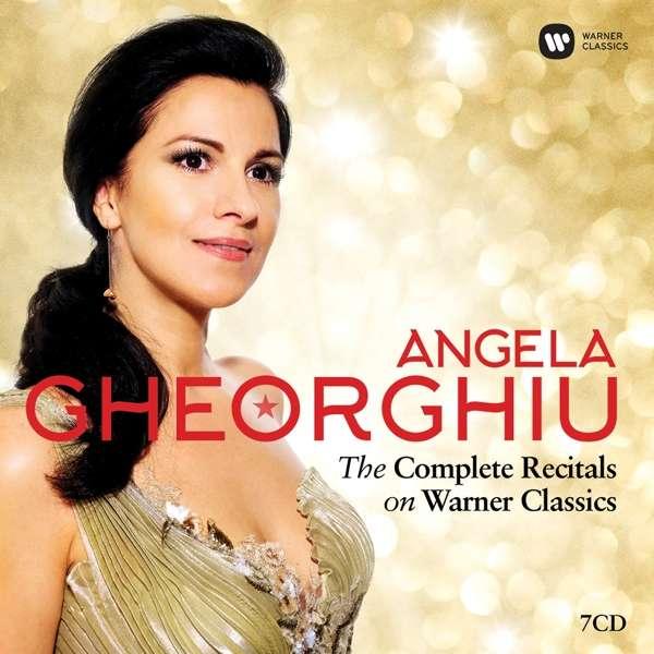 CD GHEORGHIU, ANGELA - THE COMPLETE RECITALS ON WARNER CLASSICS