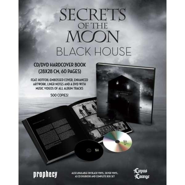 CD SECRETS OF THE MOON - BLACK HOUSE