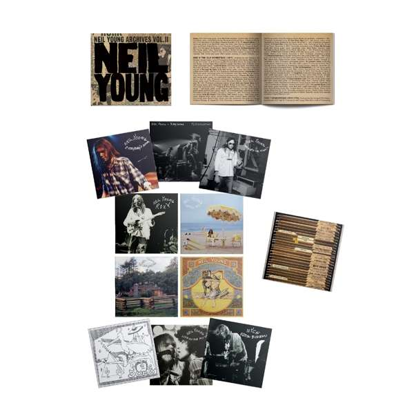 CD YOUNG, NEIL - NEIL YOUNG ARCHIVES VOL. II