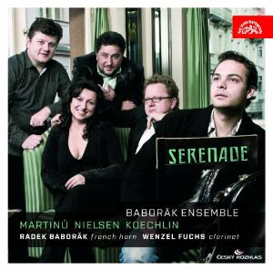 CD BABORAK RADEK & FUCHS WENZEL BABORAK ENSEMBLE SERENADE. MARTINU / N