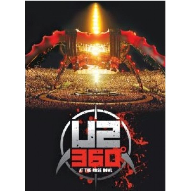 U2 - Blu-ray U2360 AT THE ROSE BOWL