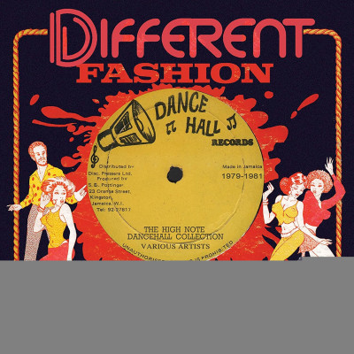 CD V/A - DIFFERENT FASHION: THE HIGH NOTE DANCEHALL COLLECTION